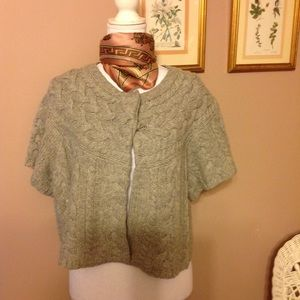 BCBG MaxAzria wool knitted cardigan.